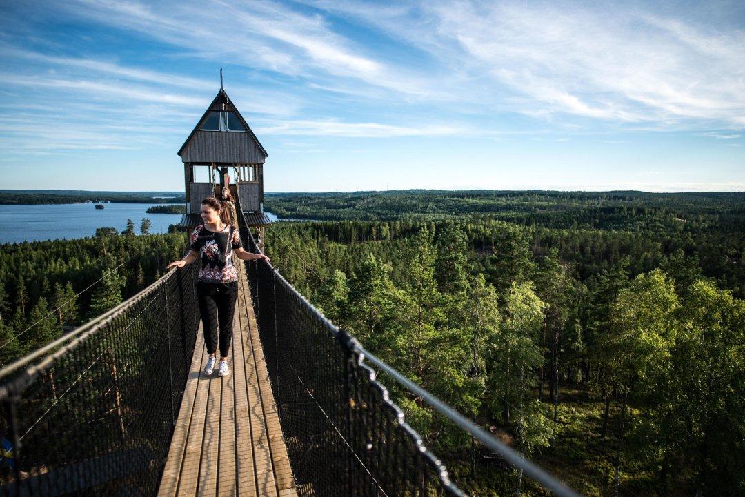 Sweden Zipline / Little Rock Lake